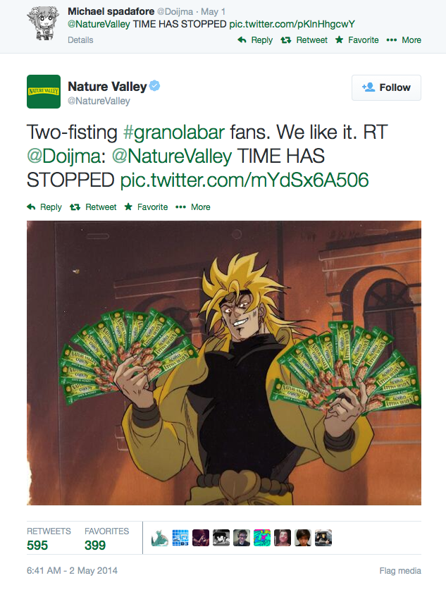 Two Fisting Granolabar Nature Valley Meme
