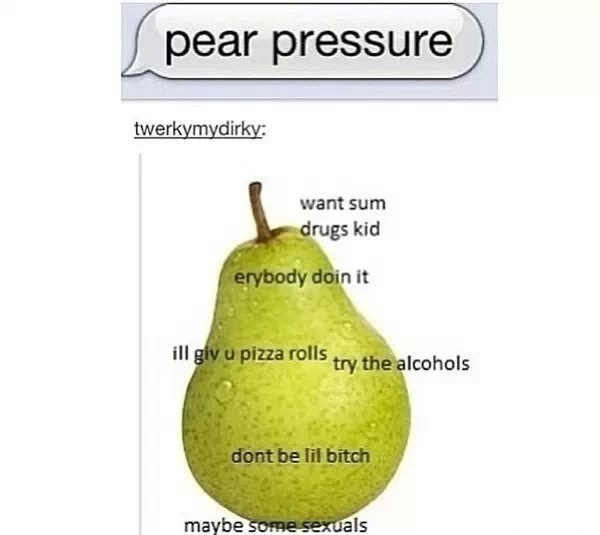 Want Sum Drugs Kid Pear Meme
