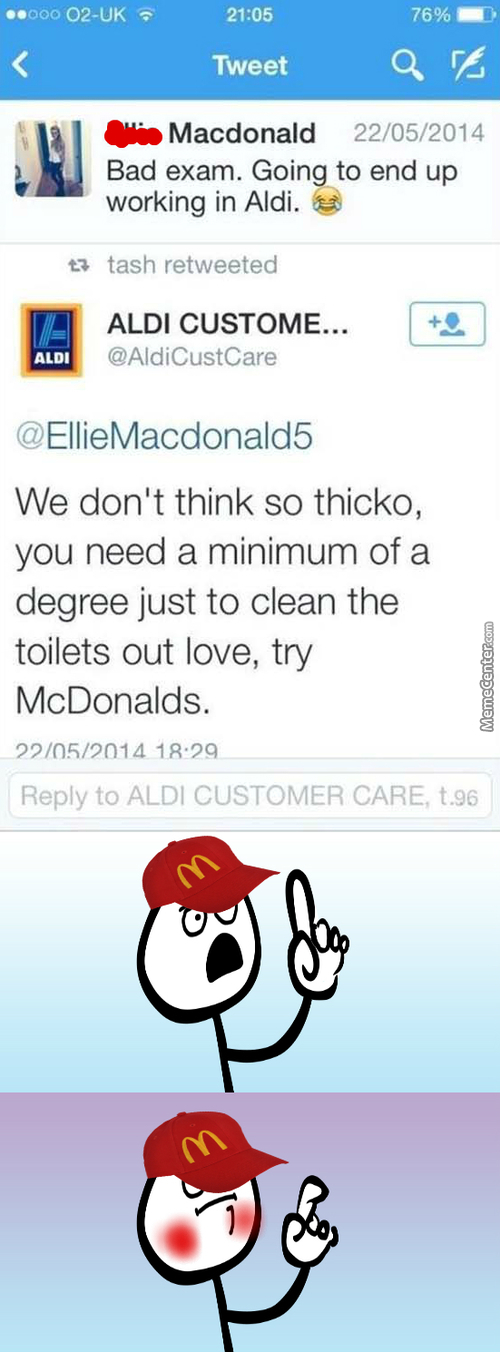 We Don't Think Aldi Meme