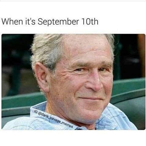 When It's September 10th September Meme