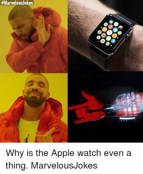 Why Is The Apple Watch Apple Meme