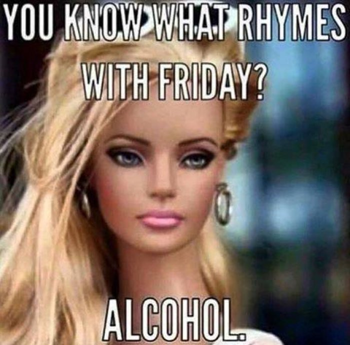 You Know What Rhymes Friday Meme