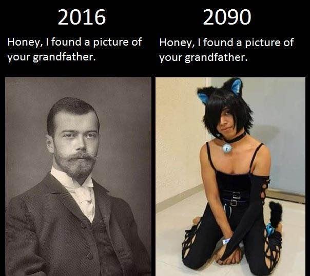 2016 Honey, I Found Grandfather Meme