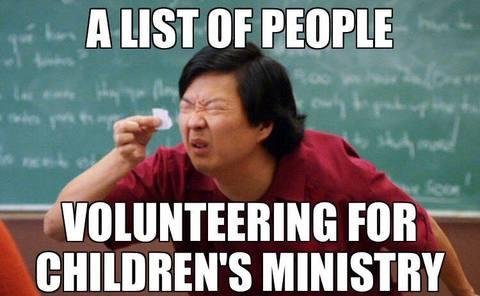 A List Of People Children Meme