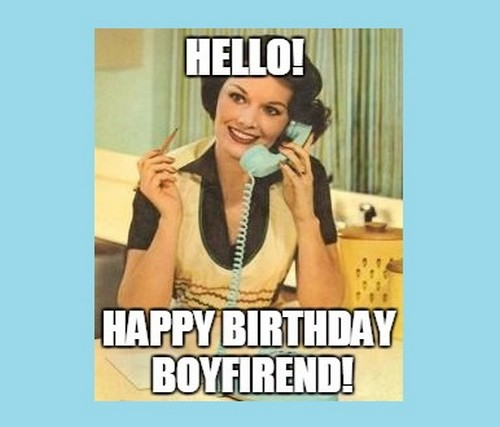 Boyfriend Birthday Meme 21