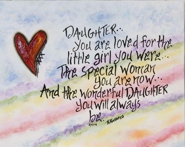 Daughter You Are Loved Daughter Birthday Meme