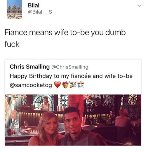 Fiance Means Wife To Fiance Birthday Meme