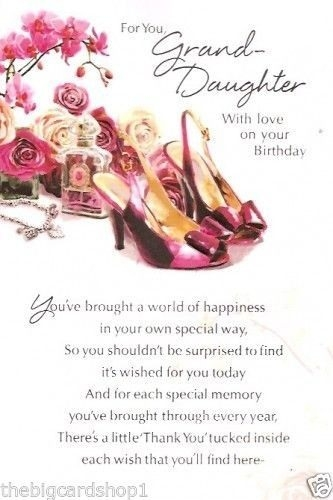 For You Grand Daughter Granddaughter Birthday Meme