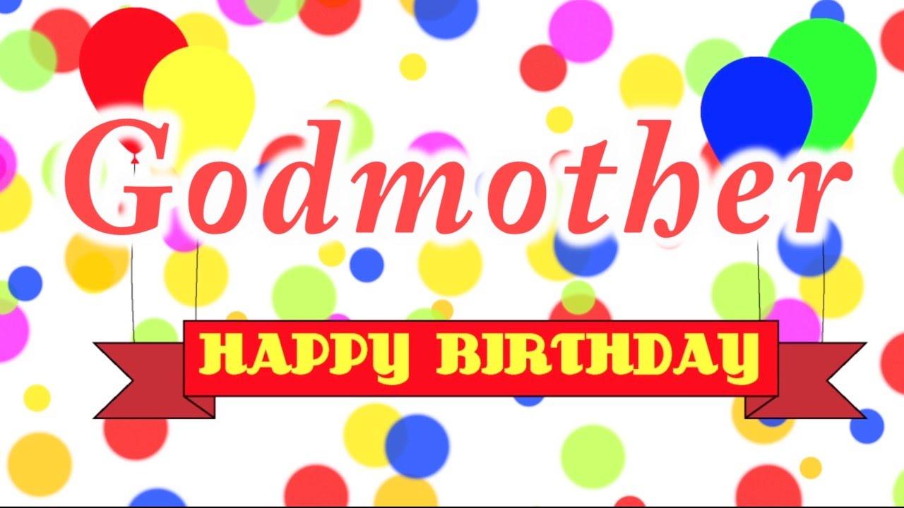 Godmother Happy Birthday Godmother Birthday Meme