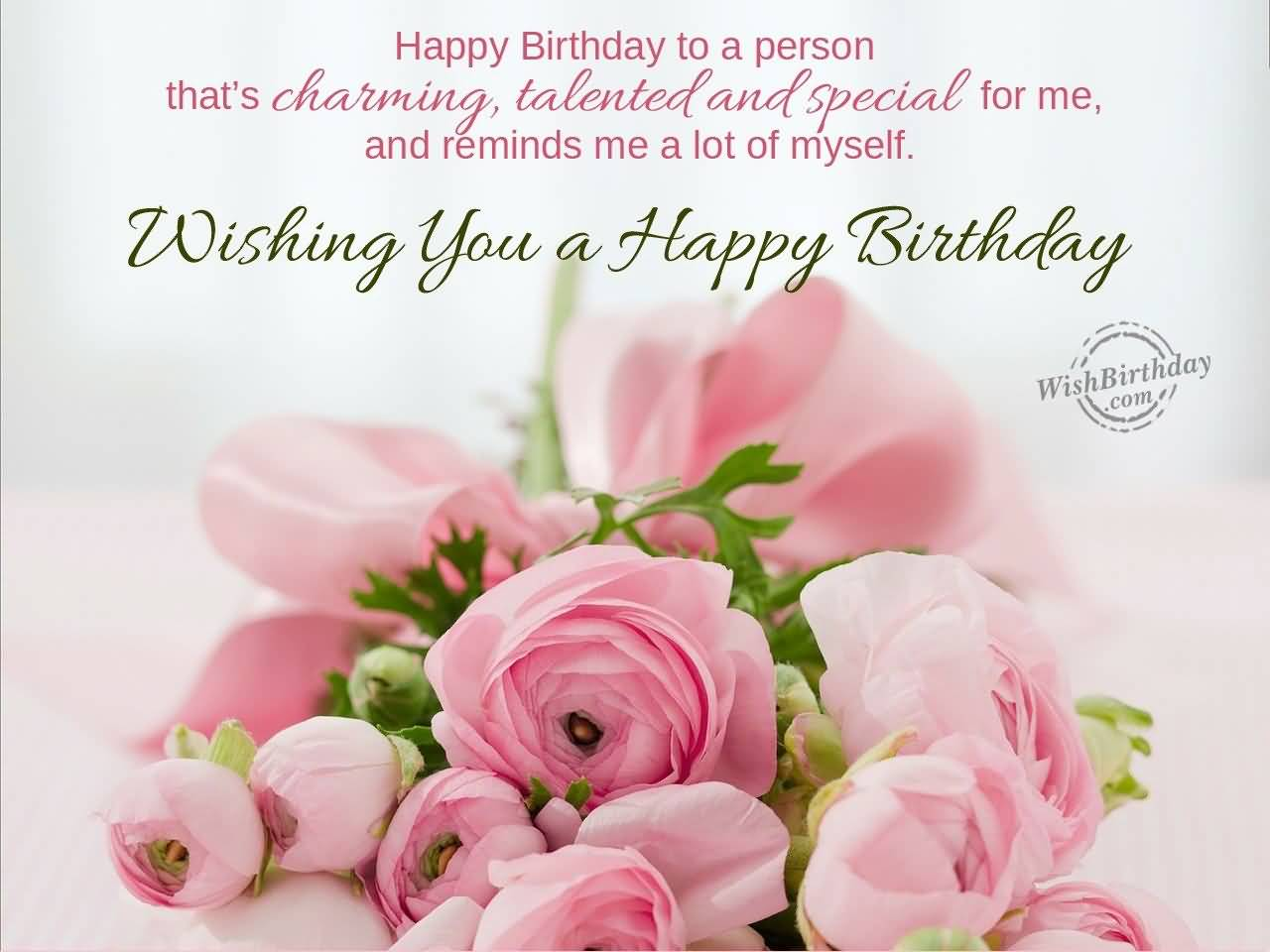Gorgeous E Card Birthday Wishes For Aunt