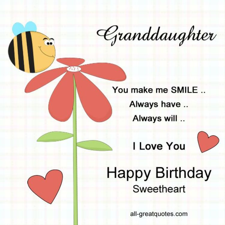 Granddaughter You Make Me Grandchild Birthday Meme
