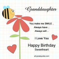 Granddaughter You Make Me Granddaughter Birthday Meme
