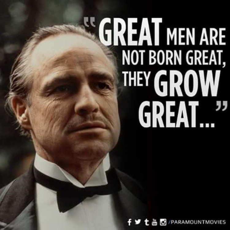 Great Men Are Not Godfather Birthday Meme
