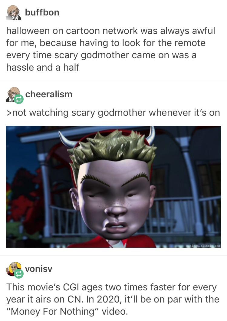 Halloween On Cartoon Network Godmother Meme