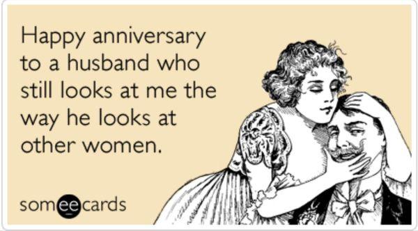 Happy Anniversary To A Husband Birthday Meme
