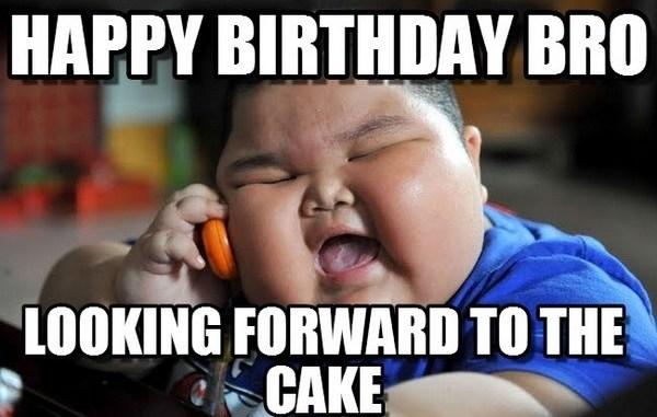 Happy Birthday Bro Looking Brother Birthday Meme