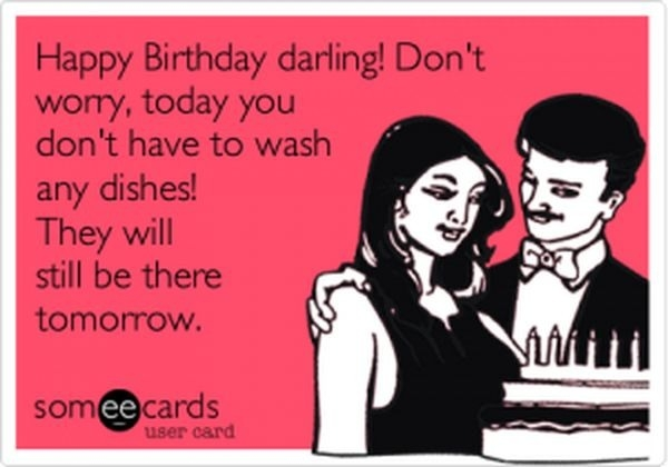 Happy Birthday Darling! Don't Wife Birthday Meme