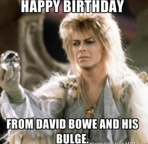 Happy Birthday From David GF Birthday Meme