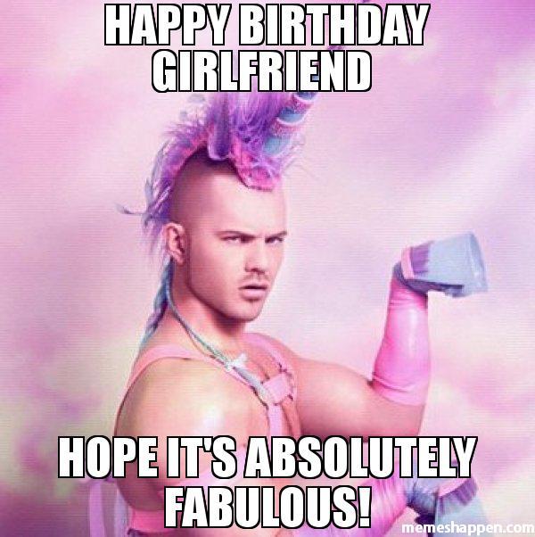 Happy Birthday Girlfriend Hope Girlfriend Birthday Meme