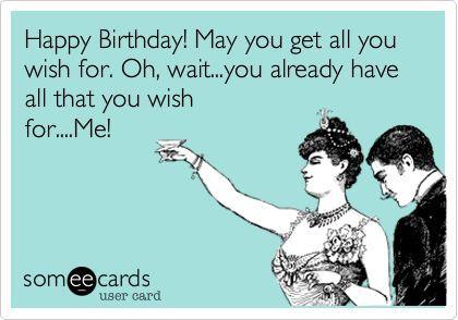 Happy Birthday! May You Boyfriend Birthday Meme