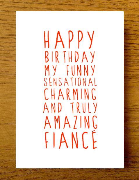 Happy Birthday My Funny Fiance Birthday Meme