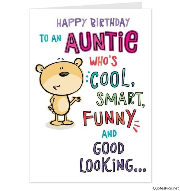 Happy Birthday To An Aunt Birthday Meme