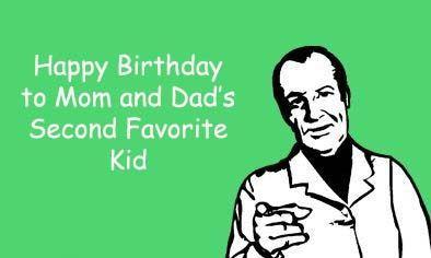 Happy Birthday To Mom Brother Birthday Meme