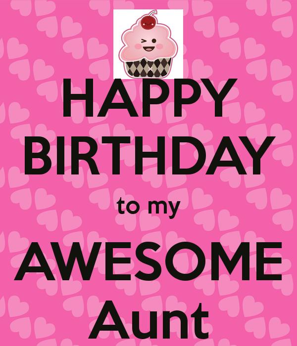Happy Birthday To My Aunt Birthday Meme