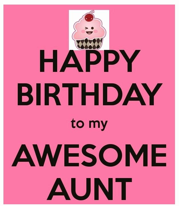 Happy Birthday To My Awesome Aunt Birthday Meme