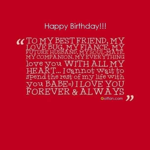 Happy Birthday To My Best Fiance Birthday Meme