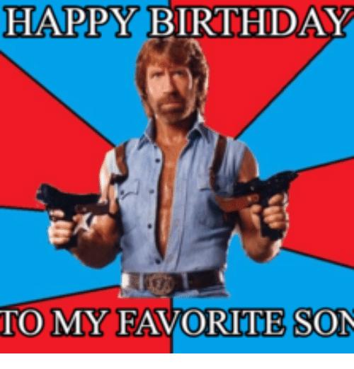 Happy Birthday To My Son Birthday Meme