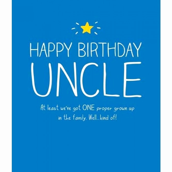 Happy Birthday Uncle At Uncle Birthday Meme