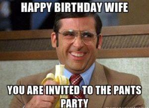 Happy Birthday Wife You Are Wife Birthday Meme