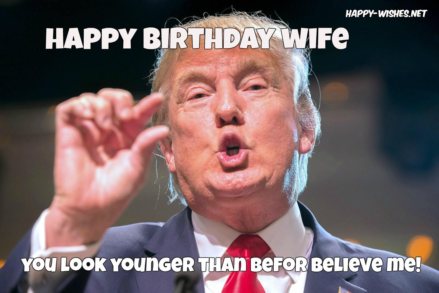 Happy Birthday Wife You Wife Birthday Meme