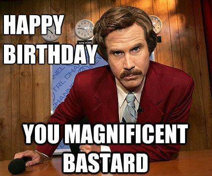 Happy Birthday You Magnificent BF Birthday Meme