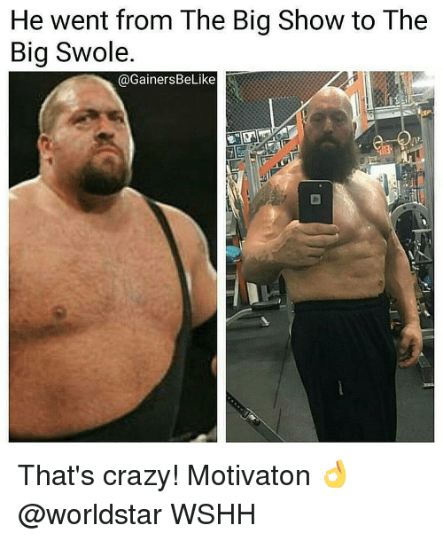 He Went From The Big Show Meme