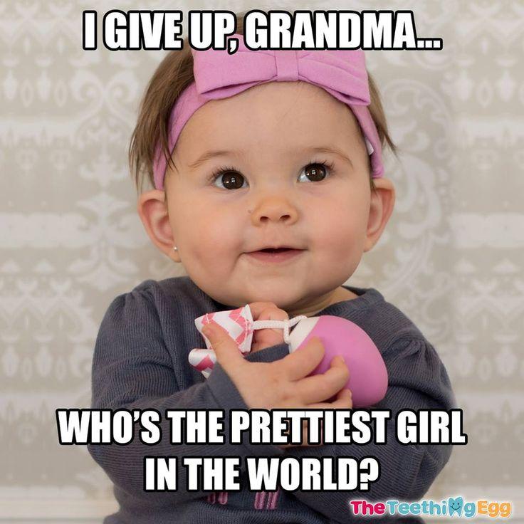 I Give Up Grandma Baby Meme