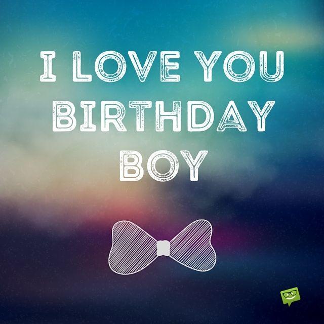 I Love You Birthday Boy BF Birthday Meme
