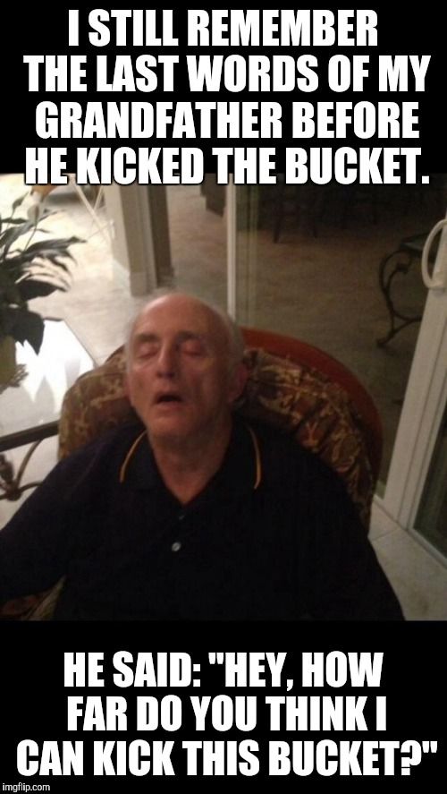 I Still Remember The Grandfather Meme