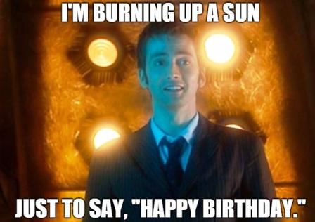 I'm Burning Up A Son Birthday Meme