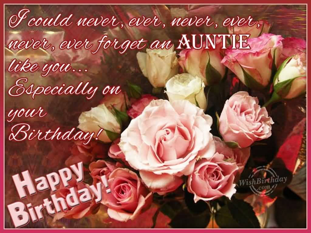 Lovely E Card Birthday Wishes For Aunt