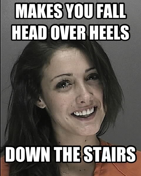 Makes You Fall Head Girlfriend Meme