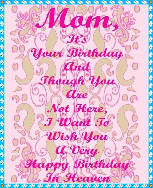 Mom It's Your Birthday Granddaughter Birthday Meme