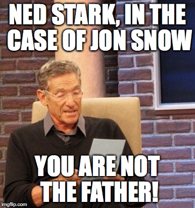 Ned Stark In The Father Meme