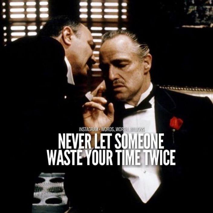 Never Let Someone Waste Godfather Birthday Meme