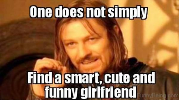 One Does Not Simply Girlfriend Meme