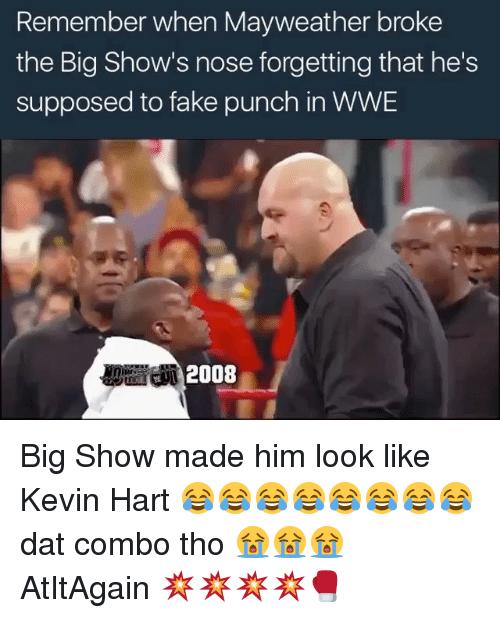 Remember When Mayweather Broke Big Show Meme