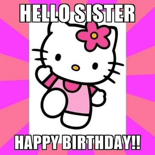 Sister Birthday Meme 19