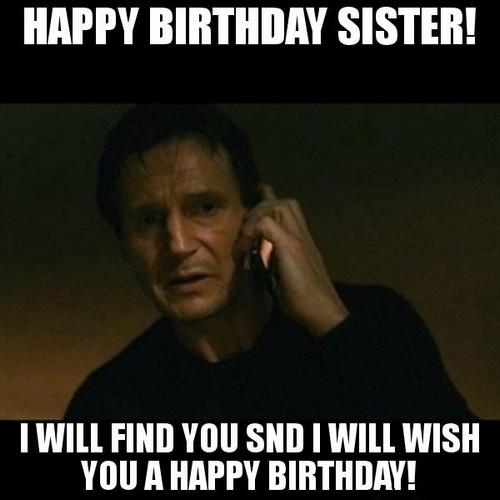 Sister Birthday Meme 25