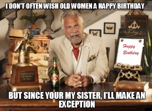 Sister Birthday Meme 29